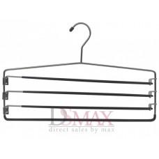 Плечики металлические на 4 перекладины для брюк Vivendi TM 44