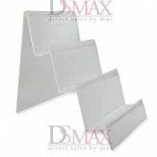 Акриловая подставка для кошельков широкая 155х100х175 мм