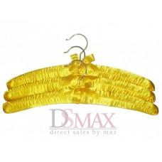 Плечики обтянутые тканью сатин TD 09