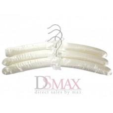 Плечики обтянутые тканью сатин TD 20