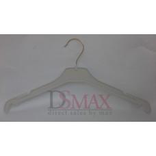 Плечики пластиковые для верхней одежды Италия белые