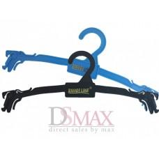 Плечики пластиковые для нижнего белья с крючками