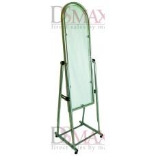 Зеркало металлическое для одежды 35 см серое ZT 13