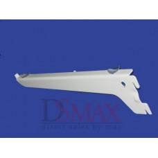 Полкодержатель белый одинарный SVB 06 150 мм