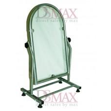 Зеркало металлическое для обуви 35 см серое ZT 08