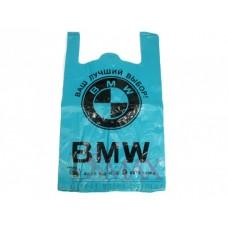 Пакеты Майка BMW синий SSS 19, 700х430 мм. В упаковке 50 шт.