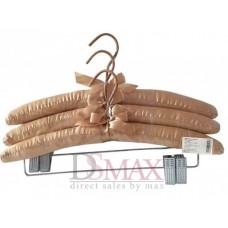 Плечики обтянутые тканью сатин TD 16