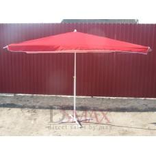 Торговый зонт прямоугольный 2.5х3.5 м