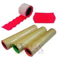 Ценники цветные универсальная в упаковке 8 шт.