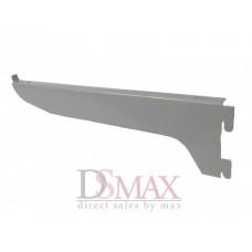Полкодержатель серый одинарный 200 мм SVB 05